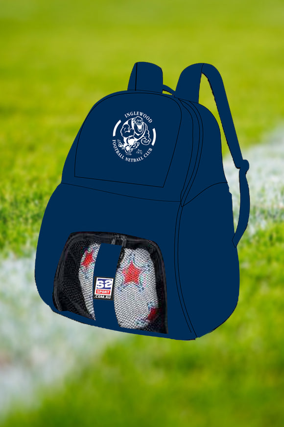 Inglewood Football and Netball Club Back Pack