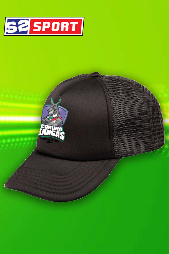Cohuna Football and Netball Club Cap (Black)