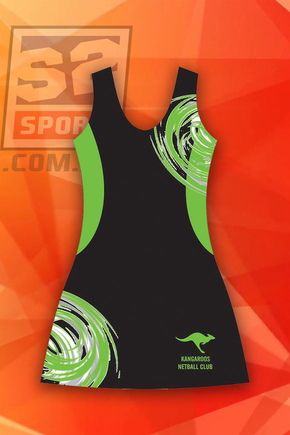 Kangaroos Netball Club Dress