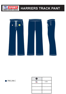 Bendigo Harriers Athletics Club Track Pant