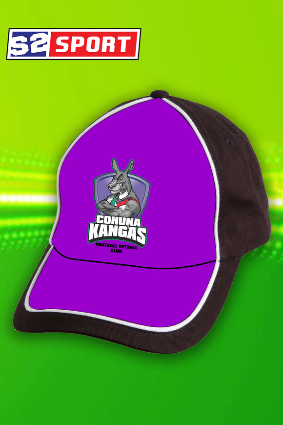 Cohuna Football and Netball Club Cap (Purple)