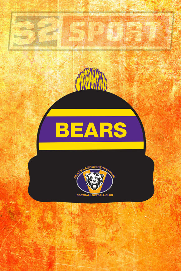 Bears Lagoon Football Netball Club Beanie
