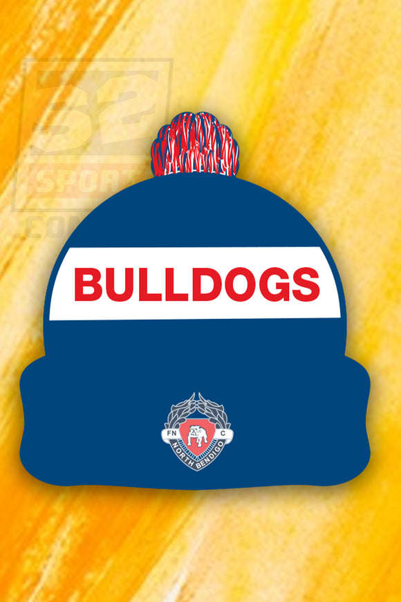 North Bendigo Football and Netball Club Beanie