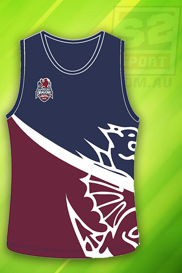Sandhurst Football Netball Club Singlet