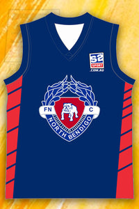North Bendigo Football and Netball Club AFL Jumper