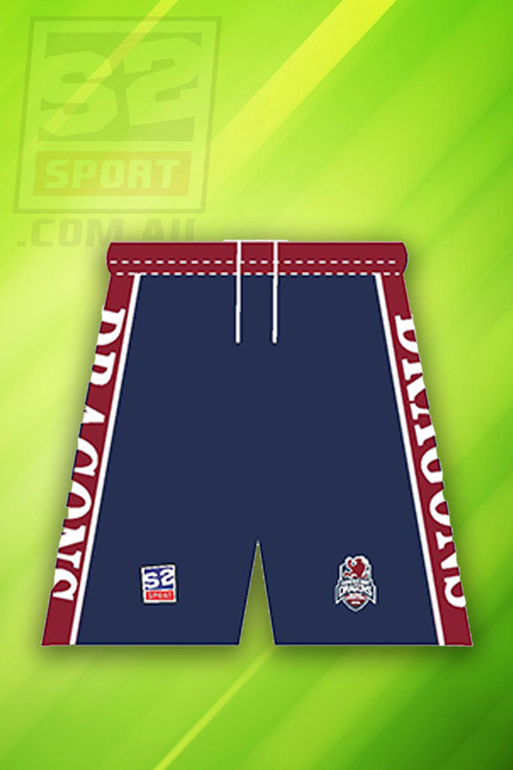 Sandhurst Football Netball Club AFL Footy Shorts