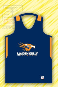 Maiden Gully YCW Eagles Singlet