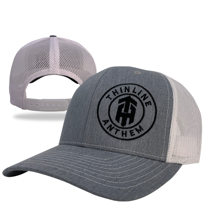 Thinline Anthem White Line Hat