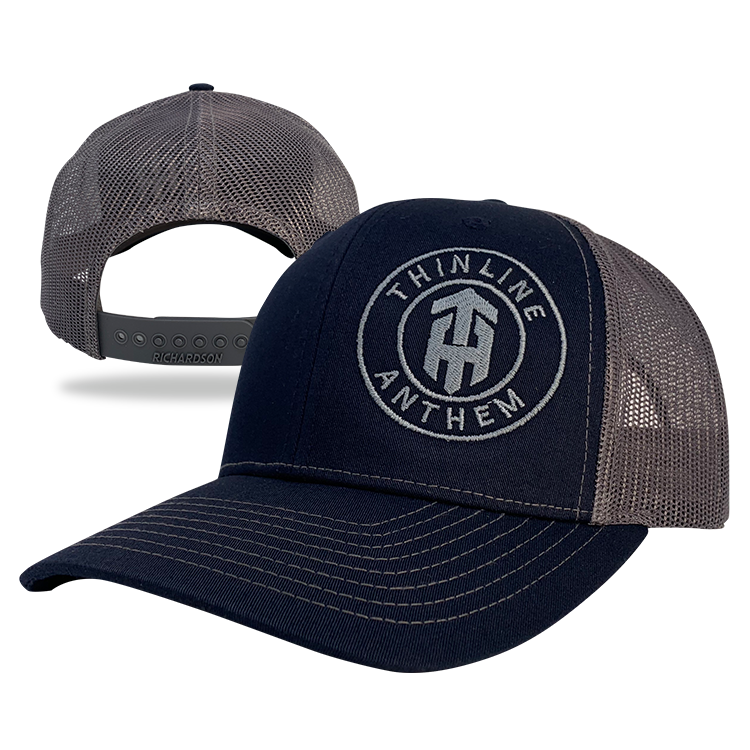 Thinline Anthem Grey Line Hat