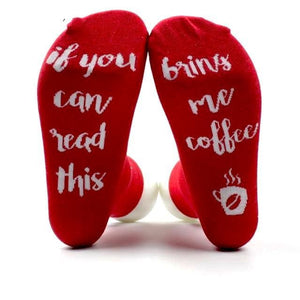 Bring Me A Drink Socks (6 Styles) - Bring me coffee