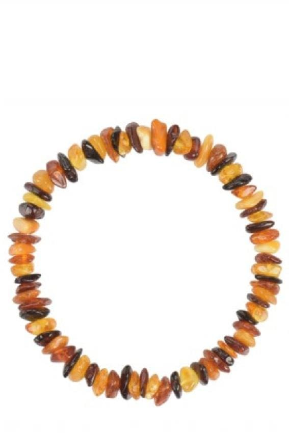 Chips Mix Amber Beads Bracelet