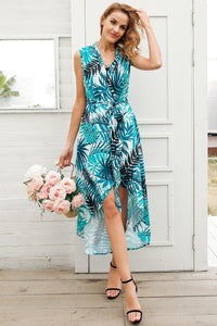 Green Tropical Beach Dress