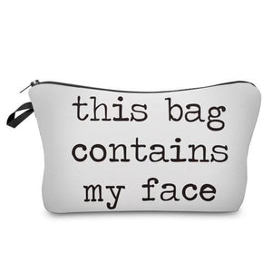 I Am Beautiful Cosmetic Pouches (5 styles) - My face