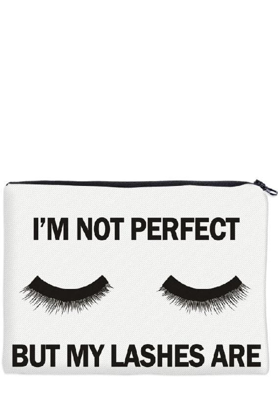 Perfect Eyelashes Cosmetic Bag