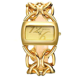 Premiere Chain Link Bracelet Watch (2 Colors) - Gold