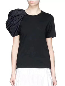 Puff Sleeve T-Shirt ( 2 Colors)