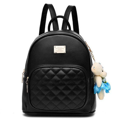 Quilted Front Pocket Backpack (3 Colors)