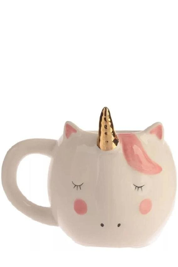 Sleepy Unicorn Mug (2 Colors) - White