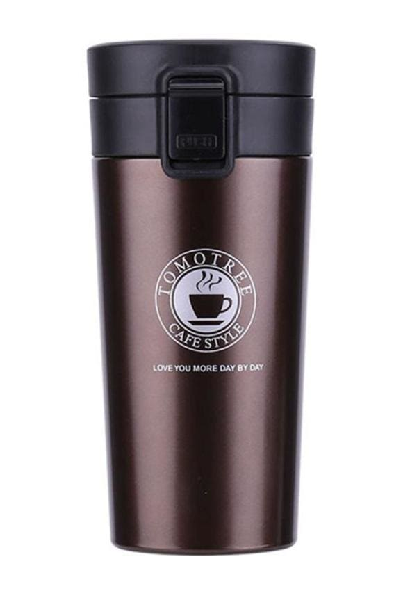 Stainless Steel Thermo Coffee Cup (5 Colors)