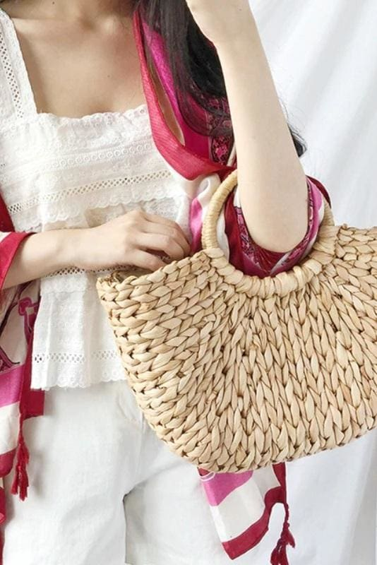 Straw Moon Bag
