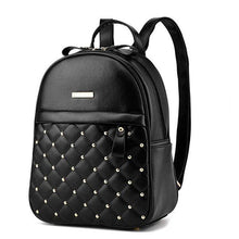 Studded Quilt Front Pocket Backpack (3 Colors)