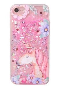 Unicorn Liquid Glitter iPhone Case