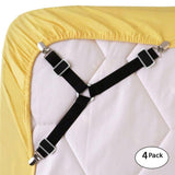 Adjustable Bed Sheet Grippers (4PCS)