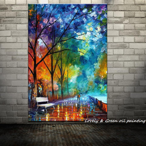 Colorful Parkway Art