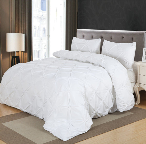 White Duvet  Bedding Set