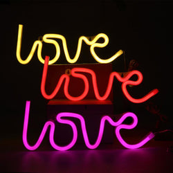 Love Neon Sign - 3 Colors