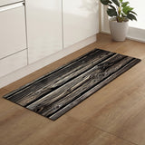 Multi Color Wood Pattern Rectangle Corridor Rug