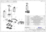 i-mop XL exploded view drawings