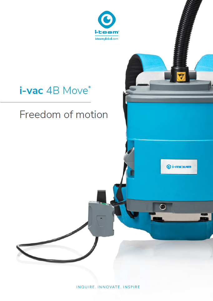 battery backpack vacuum, i-move