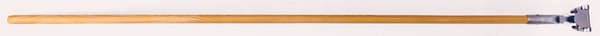 "60"" Wooden Microfiber Dust Mop Handle"