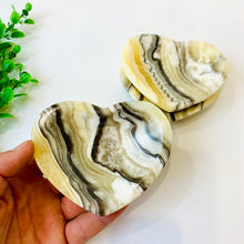 Heart Shaped Zebra Onyx Dish