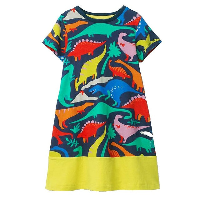 Youth Dinosaur Dress