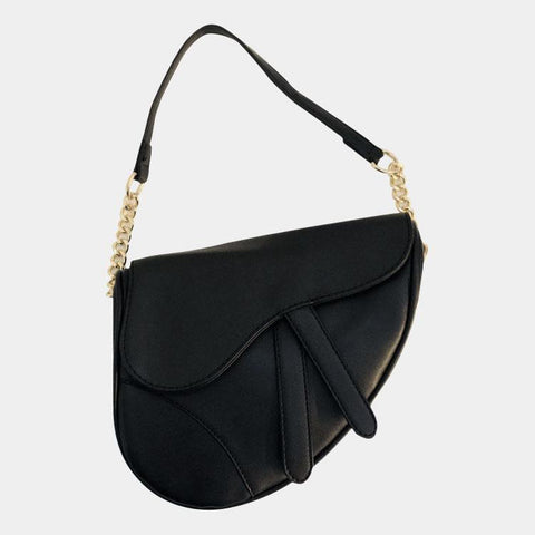 Saddle Flap Limited Big Bag Black
