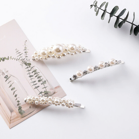 Free Gift - Little Flower Pearl Hairpin