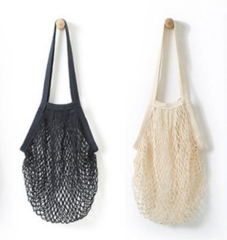 Net String Bag White