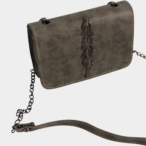 Light as a feather Grey Crossbody Bag