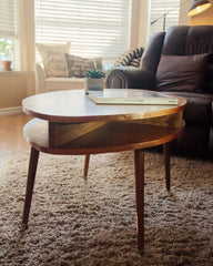 Custom Mid Century Coffee Table