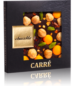 chocoMe Carré Dark Chocolate Bonanza