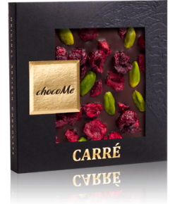 chocoMe Carré Dark Chocolate Cheers