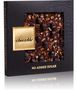 chocoMe Carré Dark Chocolate Coffee Lover's Dream No Added Sugar
