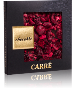 chocoMe Carré Dark Chocolate Happiness