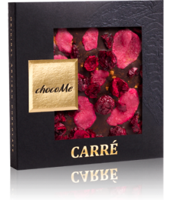 chocoMe Carré Dark Chocolate Love