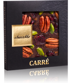 chocoMe Carré Dark Chocolate Tranquility