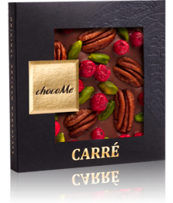 chocoMe Carré Milk Chocolate Adventure