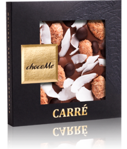 chocoMe Carré Milk Chocolate Grandeur