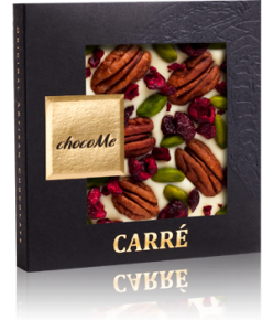 chocoMe Carré White Chocolate Bang